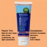 Green Screen® Organic Sunscreen SPF 31 Tinted – Peach